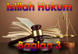 Daftar Istilah Dalam Dunia Hukum Paling Lengkap (Abjad H-L)