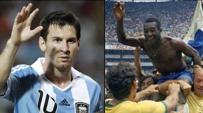 ¿Podrá Messi superar los mil goles de Pelé?…