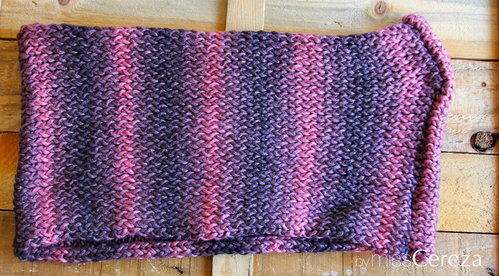 bufanda rosa de doble vuelta