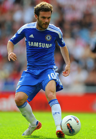 Juan Mata Chelsea Photos 2011-2012