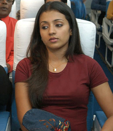 hot wallpapers of indian actress trisha cute photos