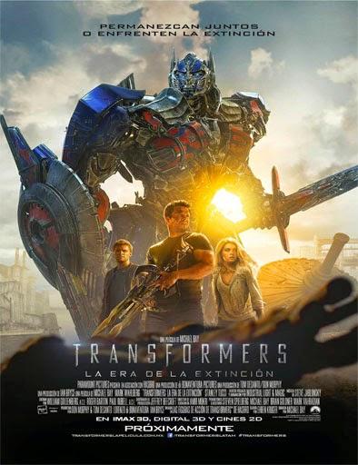 Transformers 4 La era de la extinción (2014) Online