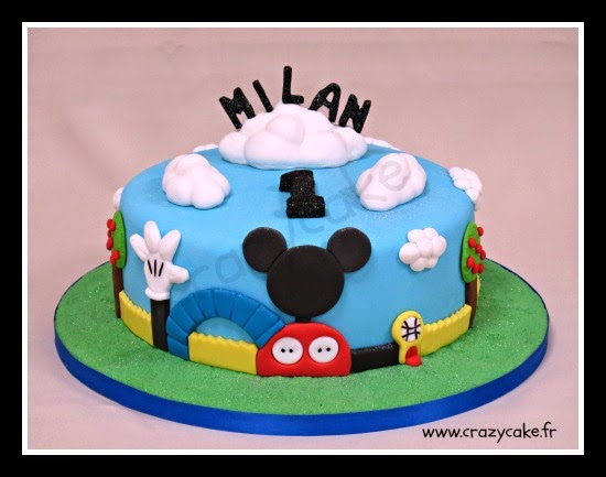 Crazy cake cake design thionville metz luxembourg for Decoration maison mickey
