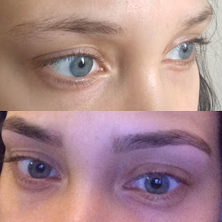 lifestyle, beauty, hd brows, heavenly brows, jodie orr, youwishyou, Catherine delves, review, eyebrows, miss pap, lounge wear, sunday, 2016, university, hd brows before and after,