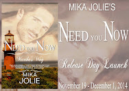 Mika Jolie's NEED YOU NOW Release Day Launch & Giveaway