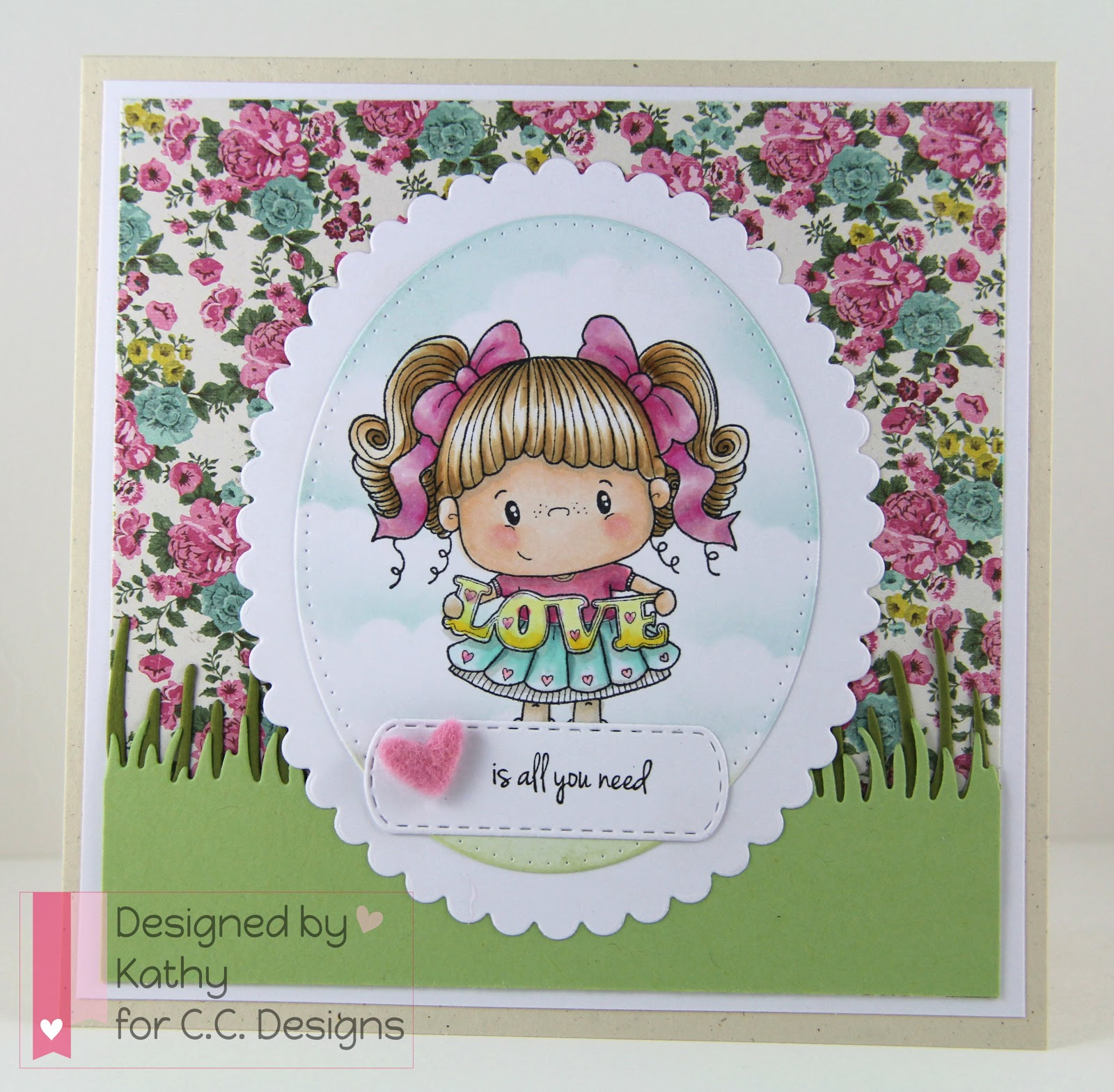 cc designs, pollycraft, freckles, make a card #2 die