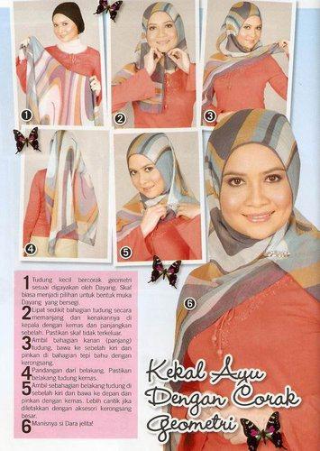 Malaysia Hijab Tutorial