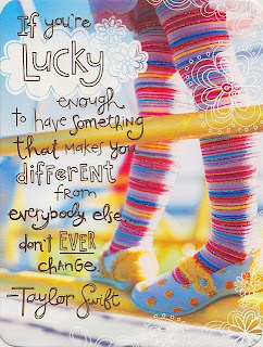 Be different - Taylor Swift quote