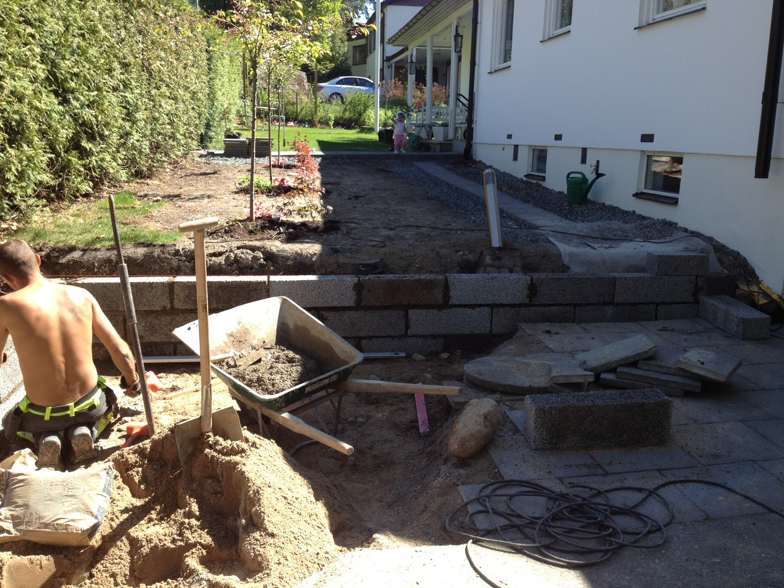 Njut i din trädgård: arbete pågår!