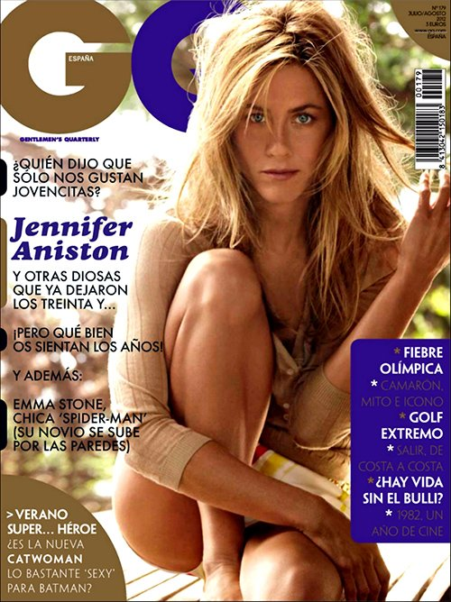 Jennifer Aniston Sizzles for GQ Spain July/August 2012 » Gossip/Jennifer Aniston
