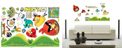 Angry Birds Wall Decals Plus MORE Angry Birds Deals