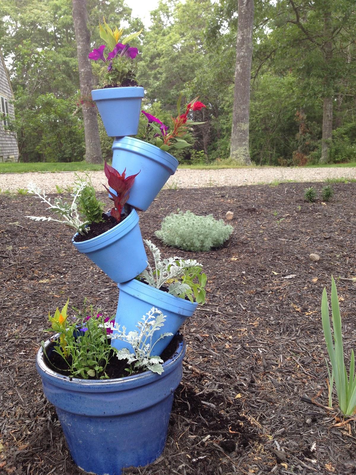 See Molly Create Diy Tipsy Plant Pots