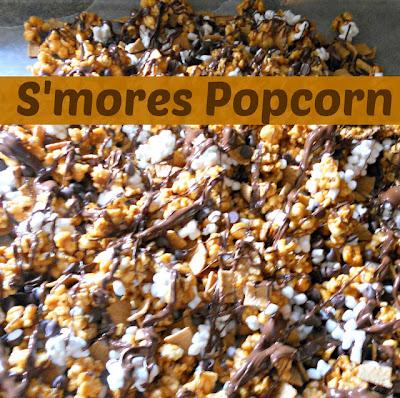 CrazyLou Creations: S'Mores Popcorn