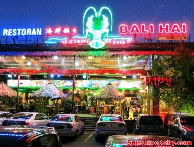 Bali Hai Seafood Village Kota Damasara, food, seafood restaurant, bali hai
