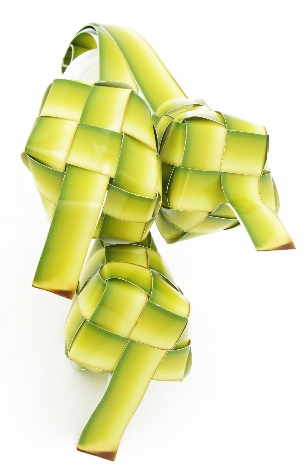 Ketupat Dumpling Vector Graphic Raya