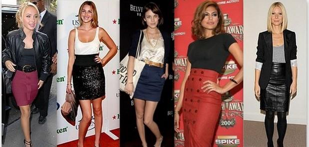 falda lapiz moda 2013