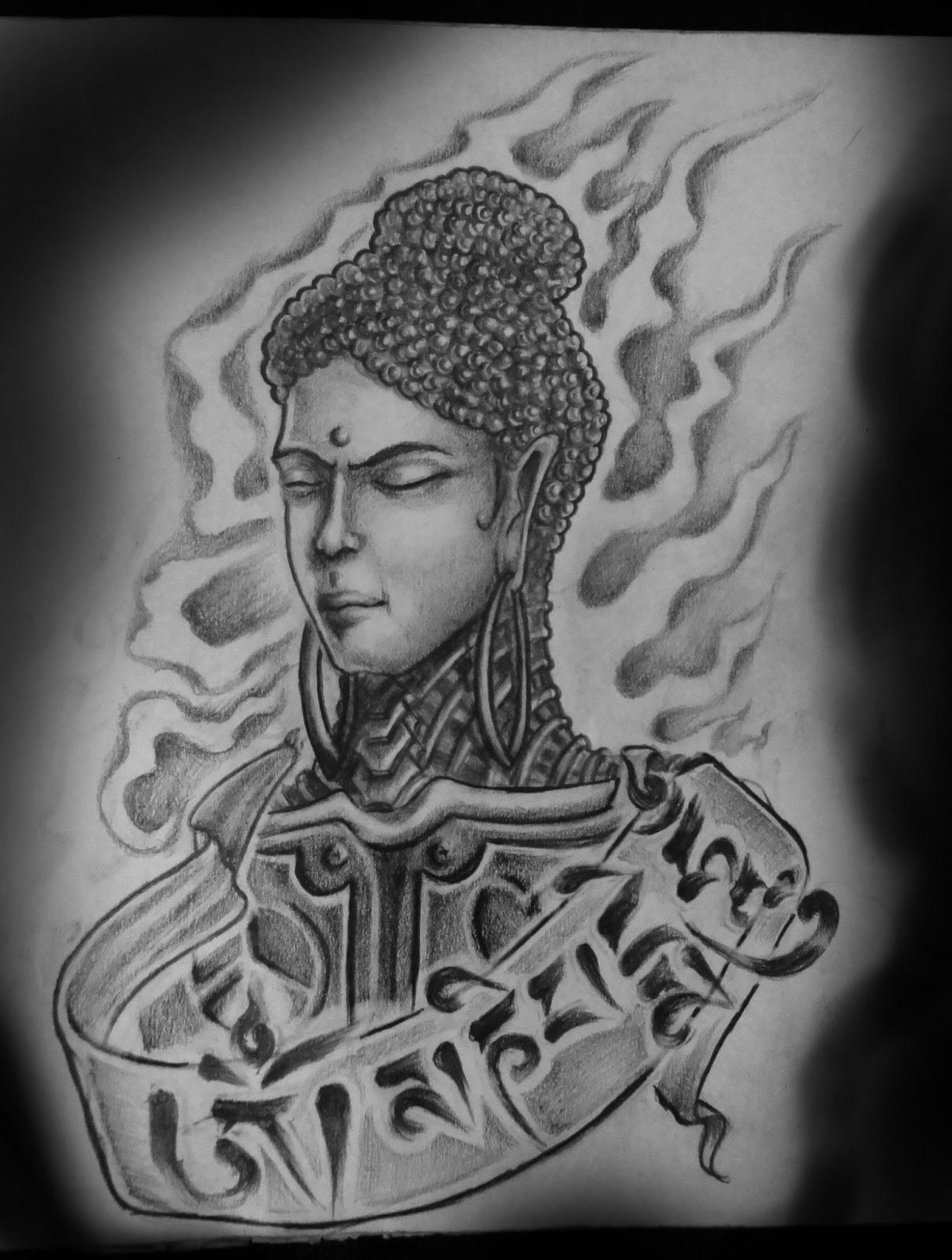 Best Tattoo Studio In Bangalore Astron Tattoos India Buddha