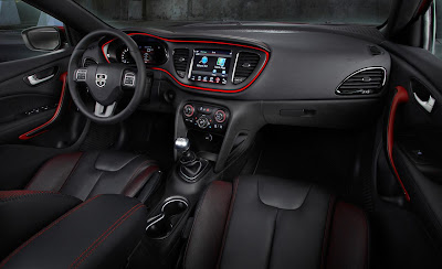Interior de Audi A1 Sportback