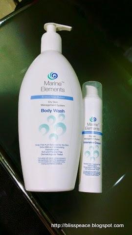 Marine Elements Body Wash and Intensive Cream