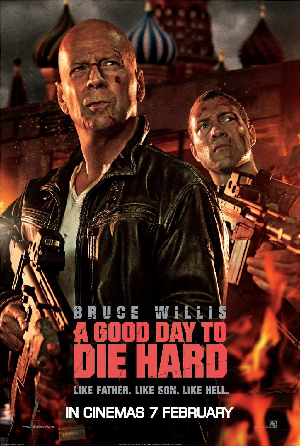 "Die Hard 5 ""A Good Day To Die Hard"""