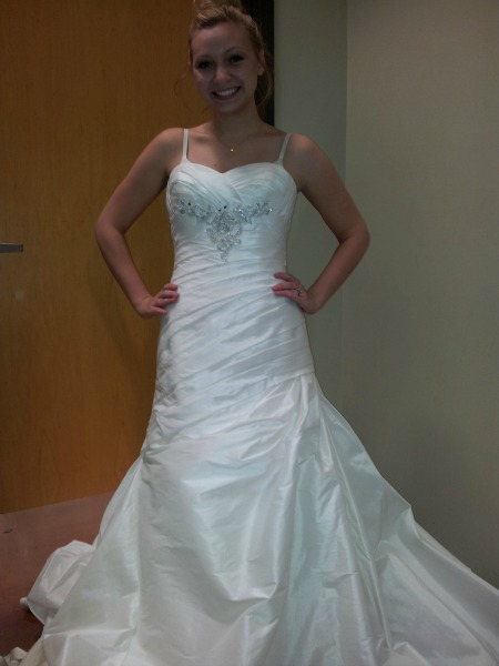 Goodwillista: Thrifted Wedding Dresses