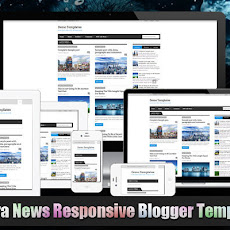 Extra News Responsive Blogger Template by MKR
