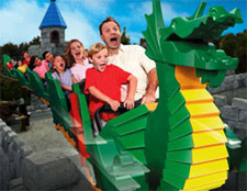 The Dragon Rollercoaster at LEGOLAND