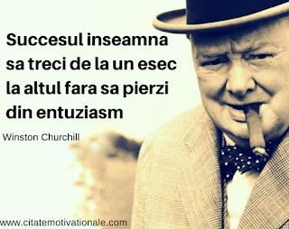 succes, esec, Churchill, entuziasm
