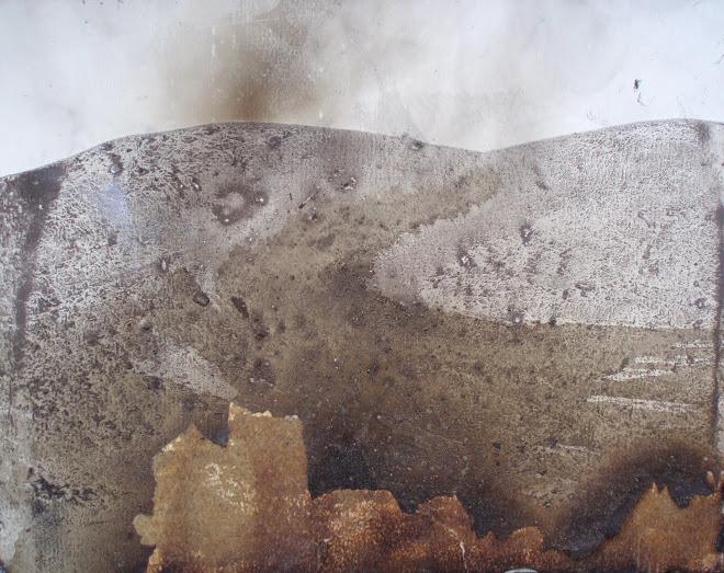 studio per paesaggio bruciato
