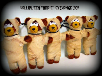 "Halloween ""Ornie"" Exchange Teddies!"