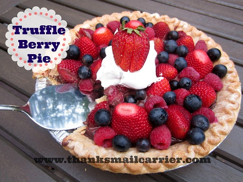 Truffle Berry Pie recipe