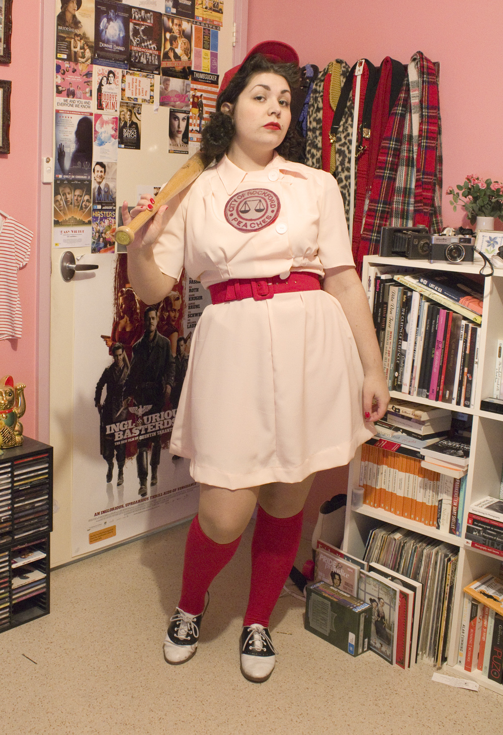 Andi b goode how i made my rockford peaches costume below is the pattern that i used and by i i mean we and by that i really mean my mum ha i just really hate sewing but i like trying to jeuxipadfo Choice Image