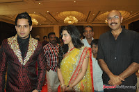 Celebraties at Actor Bharat n Jessy Wedding Reception Photos+%252815%2529 Actor Bharath n Jessy Wedding Photos