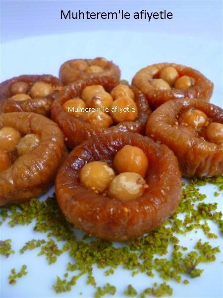 Dried Figs with Hazelnut Dessert
