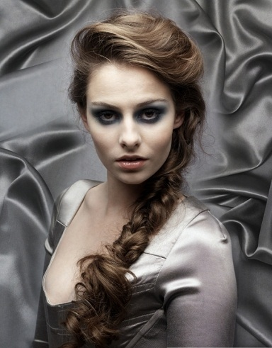 Braided Long Ponytail Hairstyle 2014