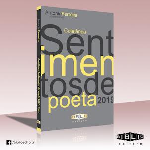 """Edital da Antologia """"Sentimentos de poeta"""