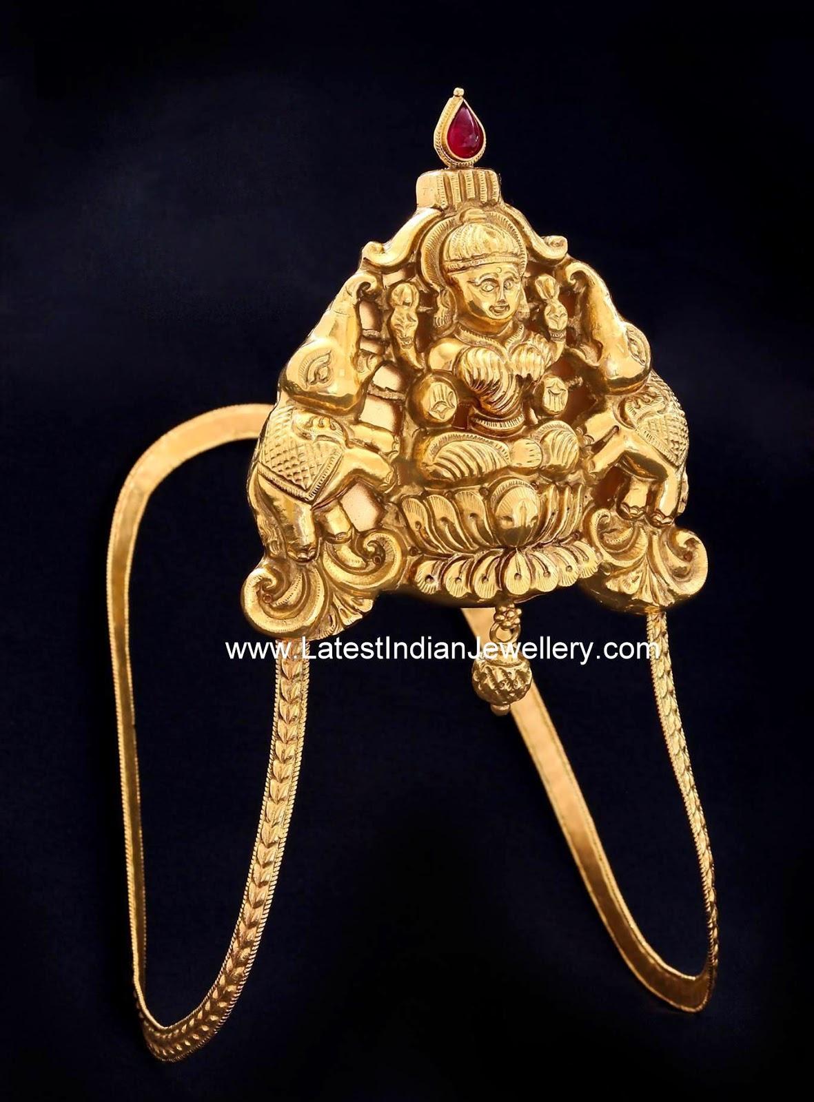 Nakshi Design Lakshmi Gold Vanki