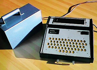 Toby Churchill LightWriter from 1970s (via Wikipedia). A.A.C. device.