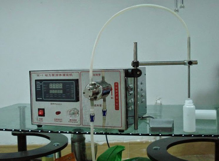 single head double heads magnetic pump high precision liquid filling máquina de rellenar líquida