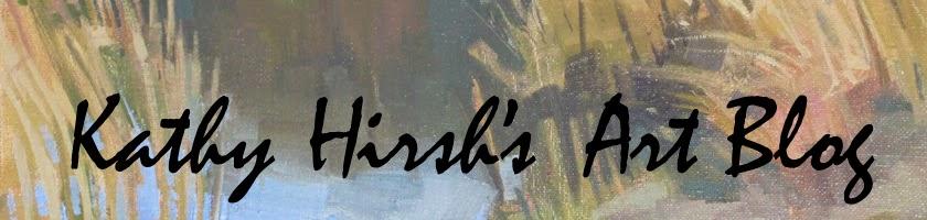 Kathy Hirsh's Art Blog:   Shadow and Shapes