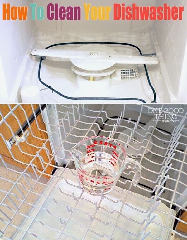 How To Clean Your Dishwasher Diy Craft Projects