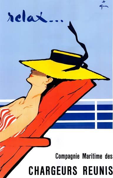 Rene Gruau Vintage Travel Posters