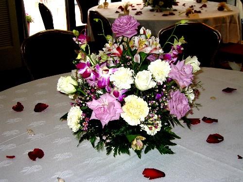 Flor arcy arreglos florales para bodas for Arreglo de boda en jardin