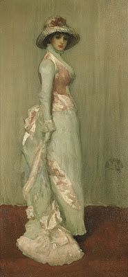 Harmony in Pink and Grey Whistler One Objectivist's Art Object of the Day