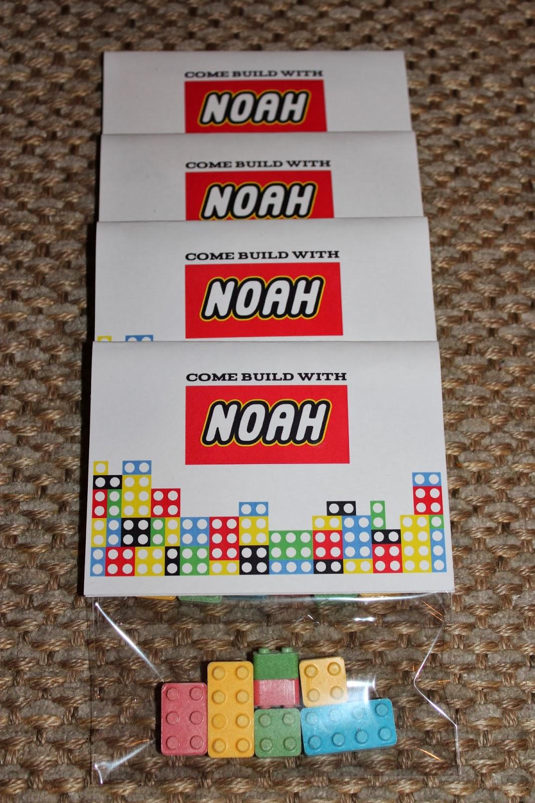 Choosing Joy Today: Noah\'s 6th Birthday Lego Party Invitations