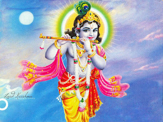 Bal krishna janmashtami pictures