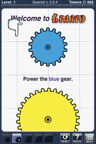 Geared Free App Game By Bryan Mitchell