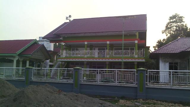 Kantor Geuchik Gampong Keutapang Krueng Dhoe, Sanggueu - Pidie.