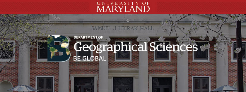 UMD Geographical Sciences Undergraduate Blog