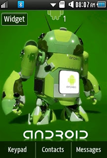General Android Samsung Corby 2 Theme 1 Wallpaper